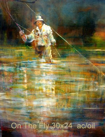 On The Fly 30×24 ac/oil