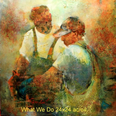What We Do 24x24 ac/oil