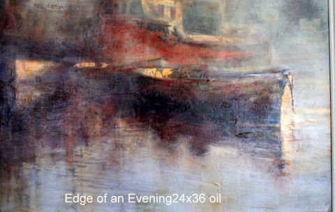 Edge of an Evening 24×36 oil