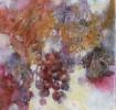 grapes mixed media 10X10