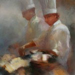 Chef Series IV 24x24 oil $1500