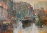 Montague Harbour 18x24 ac/oil $950