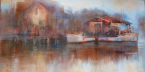 Harbour Morning oil 18X36