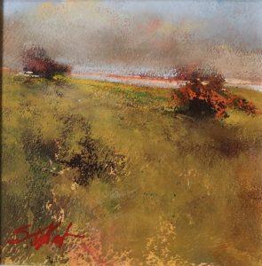 Dunes View acrylic 6x6