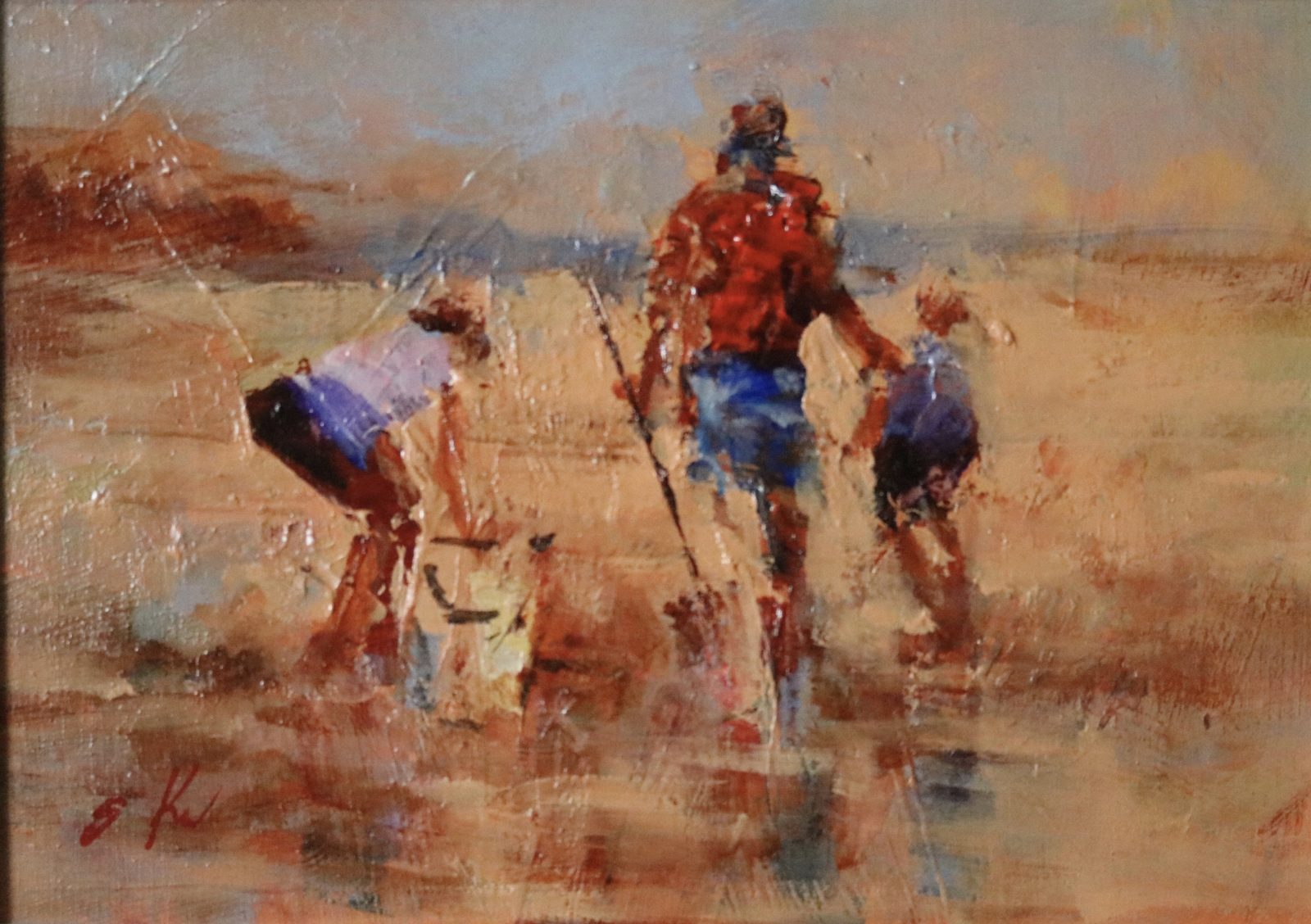 Clamdiggers ac/oil 5x7