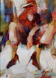 First Heels acrylic 7x5