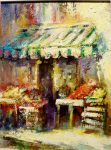 Limoux Fruit & VeggiesMarket France 12x9 AC/oil